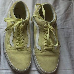 Yellow Sk8 Vans (Lowtop)